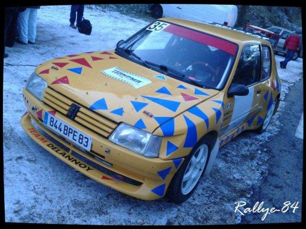 Téléthon de Murs 2012 - Peugeot 205 Maxi