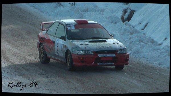 Rallye hivernal des Hautes-Alpes 2013 - Poizot/Subaru Impreza