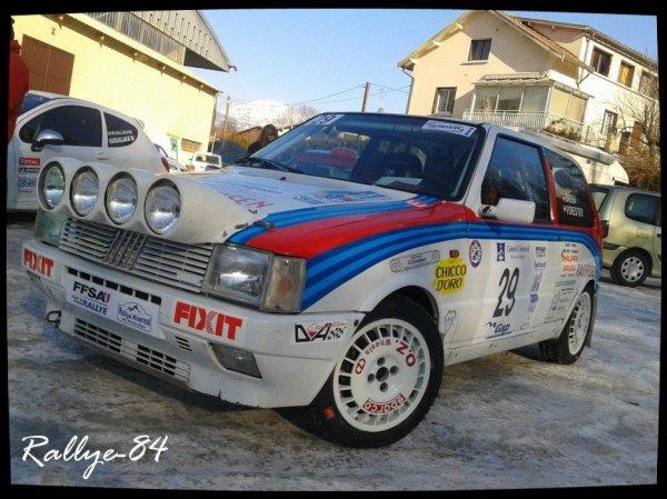 Rallye hivernal des Hautes-Alpes 2013 - Brera/Fiat Uno