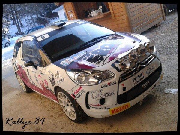Rallye hivernal des Hautes-Alpes 2013 - Galleano/Citroën Ds3