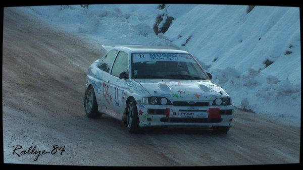 Rallye hivernal des Hautes-Alpes 2013 - Chevalier/Ford Escort Cosworth