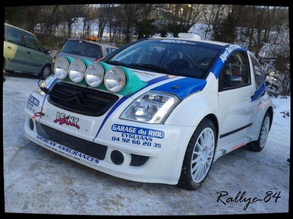 Rallye hivernal des Hautes-Alpes 2013 - Droumenq/Citroën C2 Max