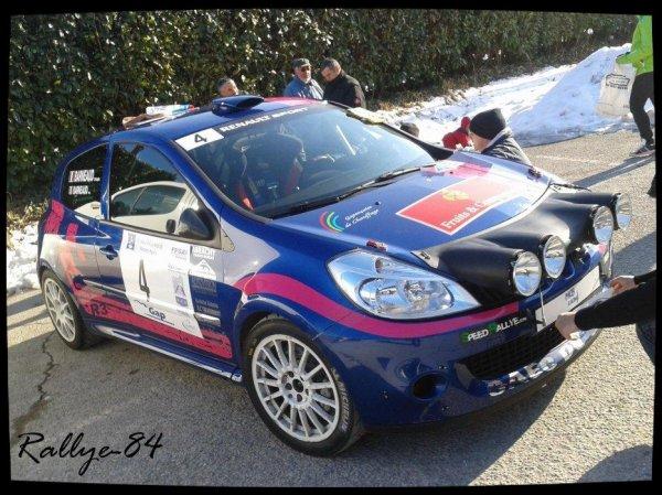 Rallye hivernal des Hautes-Alpes 2013 - Barneaud/Renault Clio R3