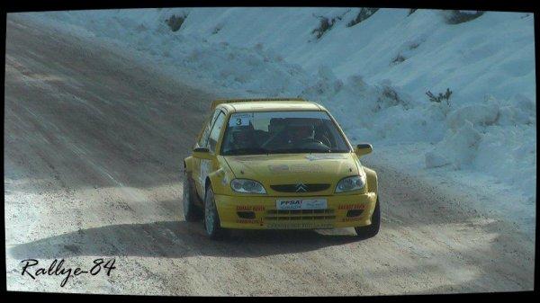 Rallye hivernal des Hautes-Alpes 2013 - Farnaud/Citroën Saxo Kit-Car