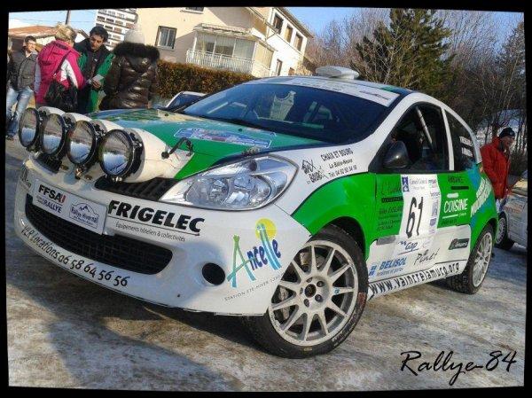 Rallye hivernal des Hautes-Alpes 2013 - Ressegaire/Renault Clio R3