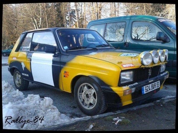 Rallye hivernal des Hautes-Alpes 2013 - Alexis/Peugeot 104 Zs