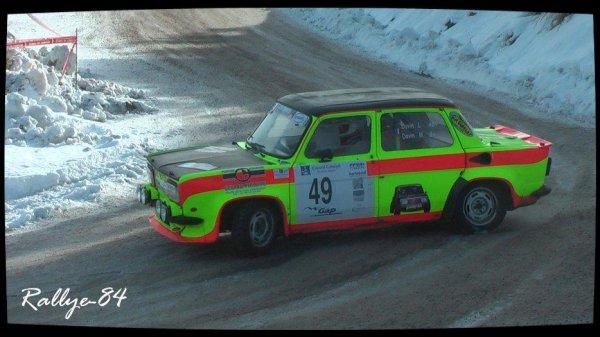 Rallye hivernal des Hautes-Alpes 2013 - Davin/Simca Rallye III