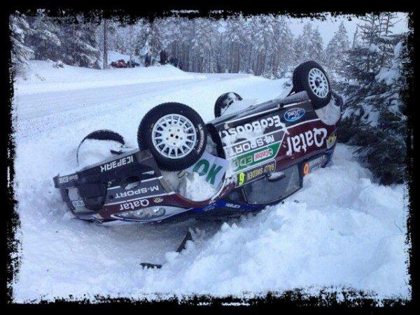 Rallye de Suède 2013 - Matthew Wilson