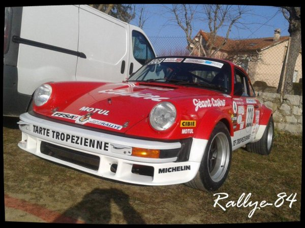 Rallye de Vaison 2013 - Bonnardel/Porsche 911 Sc