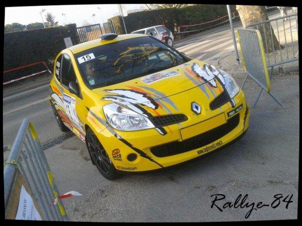 Rallye de Vaison 2013 - Fraisse/Renault Clio R3