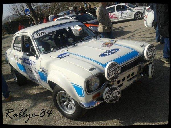 Rallye de Vaison 2013 - De Luca/Ford Escort 2000 rs