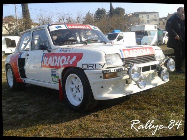 Rallye de Vaison 2013 - Doux/R5 Turbo