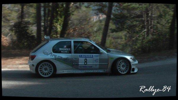 Rallye de Vaison 2013 - Magnou/Peugeot 306 Maxi