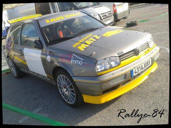 Rallye de Vaison 2013 - Van De Kadsye/Volkswagen Golf