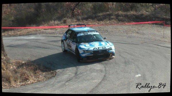 Rallye de Vaison 2013 - Calascione/Peugeot 306 Maxi