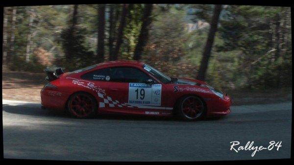 Rallye de Vaison 2013 - Porsche Gt3