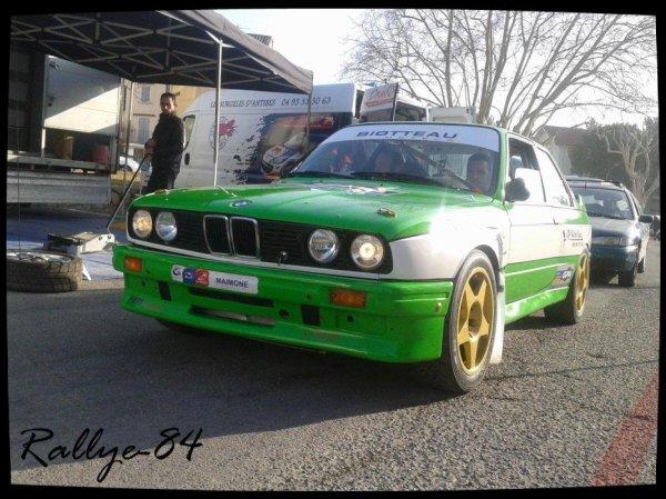 Rallye de Vaison 2013 - Poudrel/BMW M3