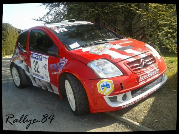 Rallye de Vaison 2013 - Peccaud/Citroën C2 S1600
