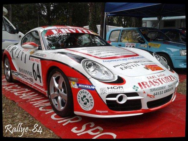 Course de côte de Bagnols-Sabran 2013 - Lamiscarre/Porsche Cayman