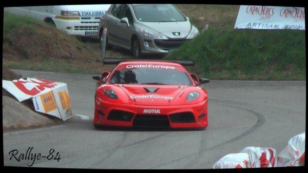Course de côte de Bagnols-Sabran 2013 - Kirmann/Ferrari F430 GT3
