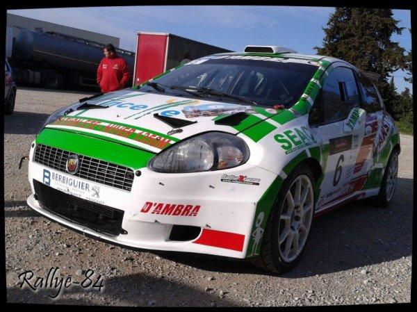 Rallye de Venasque 2013 - Saunier/Fiat Punto Abarth