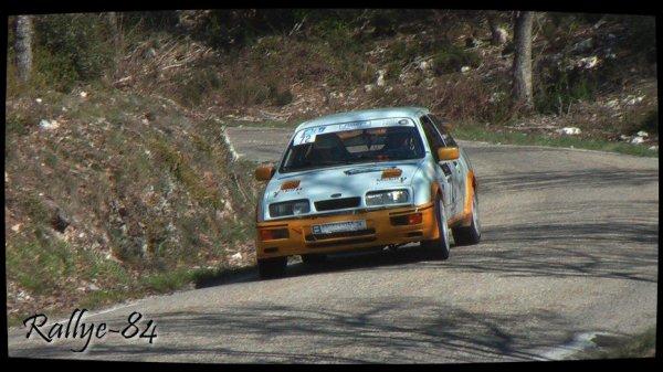 Rallye de Venasque 2013 - Serre/Ford Sierra Cosworth