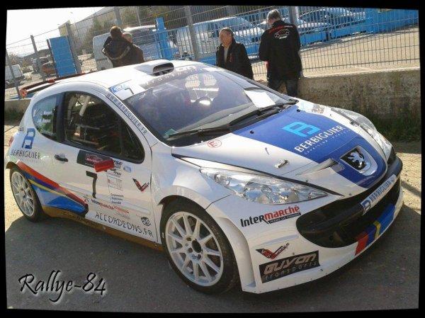Rallye de Venasque 2013 - Roux/Peugeot 207 S2000