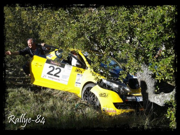 Rallye de Venasque 2013 - Salinas/Mellan/Albert (Crash)