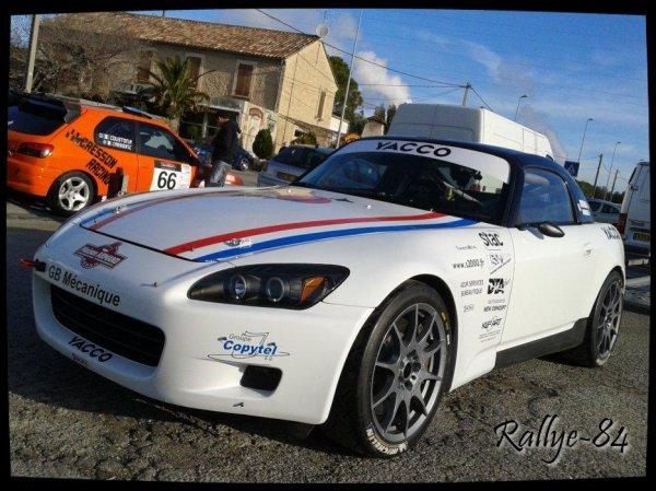 Rallye de Venasque 2013 - Brignol/Honda S2000