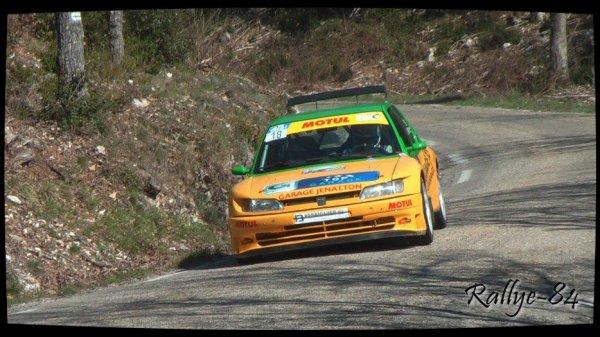 Rallye de Venasque 2013 - Jenatton/Peugeot 306 Maxi