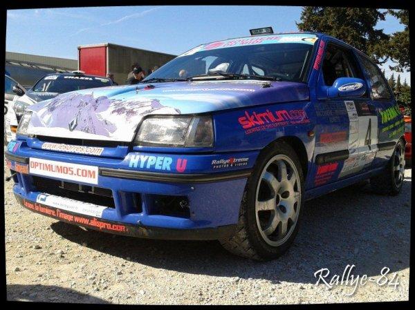 Rallye de Venasque 2013 - Ganguet/Renault Clio