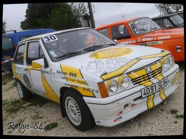 Montée historique de Lioux 2013 - Opel Corsa