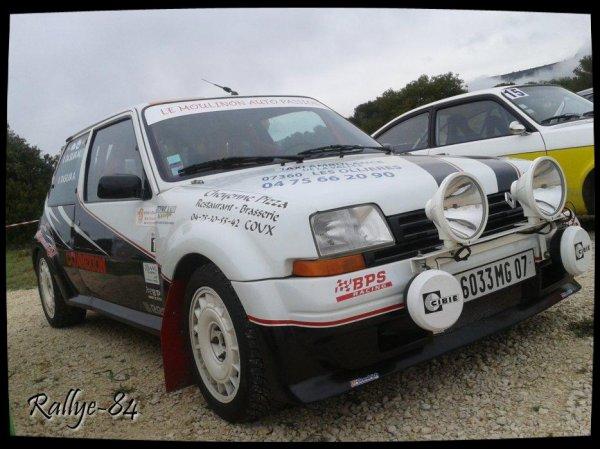 Montée historique de Lioux 2013 - Renault 5 Gt