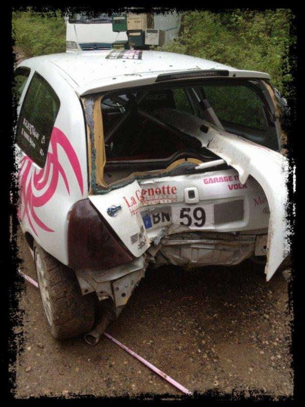 Ronde de la Durance 2013 - Quelques crash ...