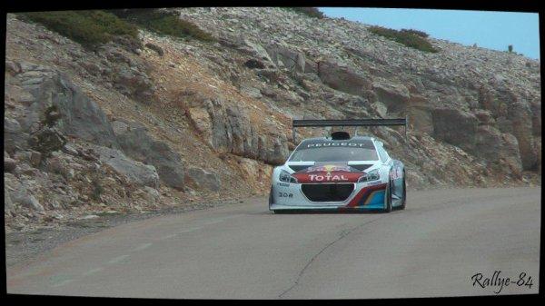 Test Sébastien Loeb - Peugeot 208 T16 + 405 T16 (Mont Ventoux)