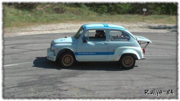 Montée historique du Colombier 2013 - Fiat Abarth 1000