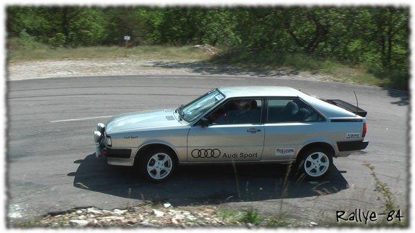 Montée historique du Colombier 2013 - Audi Quattro