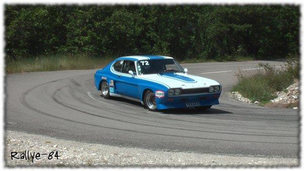 Montée historique du Colombier 2013 - Ford Capri