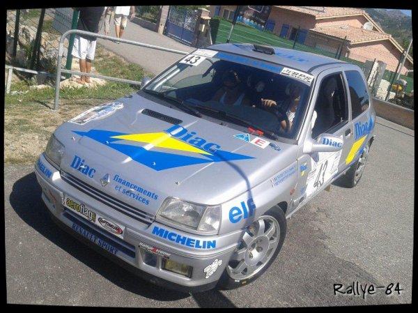 Rallye Gap-Racing 2013 - Benedetto/Renault Clio