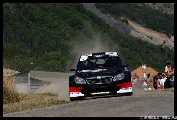 Rallye Gap-Racing 2013 - Margaillan/Skoda Fabia S2000
