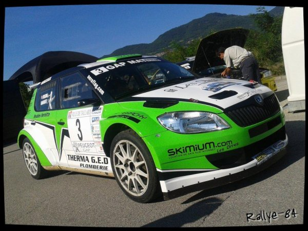 Rallye Gap-Racing 2013 - Ganguet/Skoda Fabia S2000