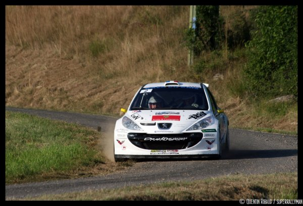 Rallye Gap-Racing 2013 - Barneaud/Peugeot 207 S2000