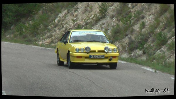 Montée historique de Reilhanette 2013 - Opel Manta