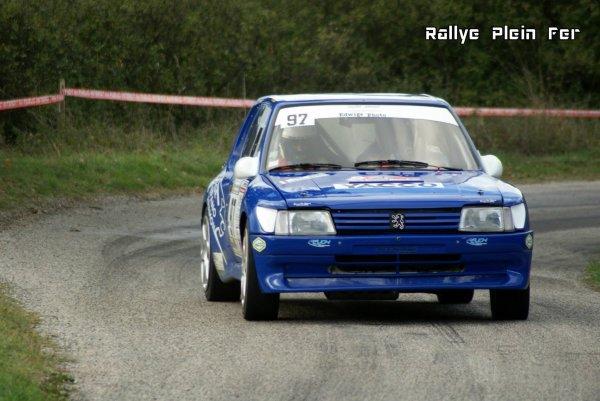Rallye Mauves-Plats 2013 - Distefano/Coulomb - Peugeot 205
