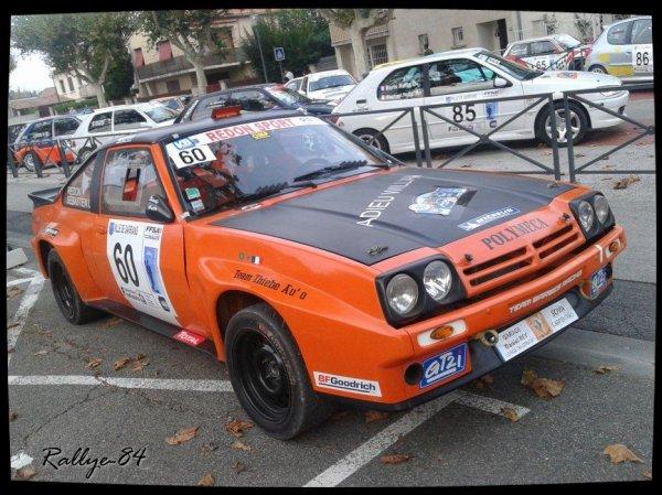 Rallye de Sarrians 2013 - Redon/Opel Manta