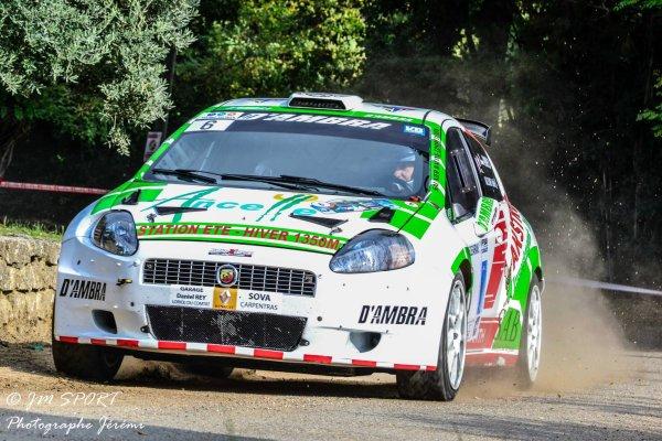Rallye de Sarrians 2013 - Saunier/Fiat Punto Abarth S2000