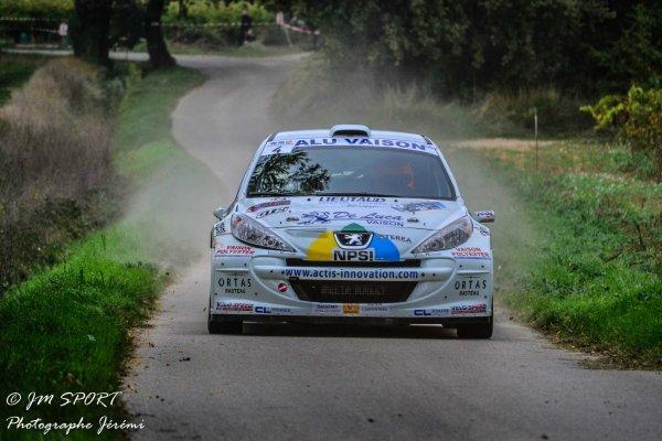 Rallye de Sarrians 2013 - Pellerey/Peugeot 207 S2000