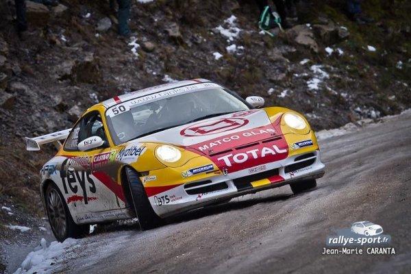 Wrc Rallye Monté Carlo 2014 - Marc Duez/Porsche 996 Gt3