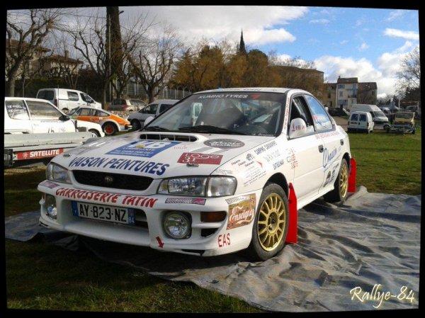Rallye de Vaison 2014 - Subaru