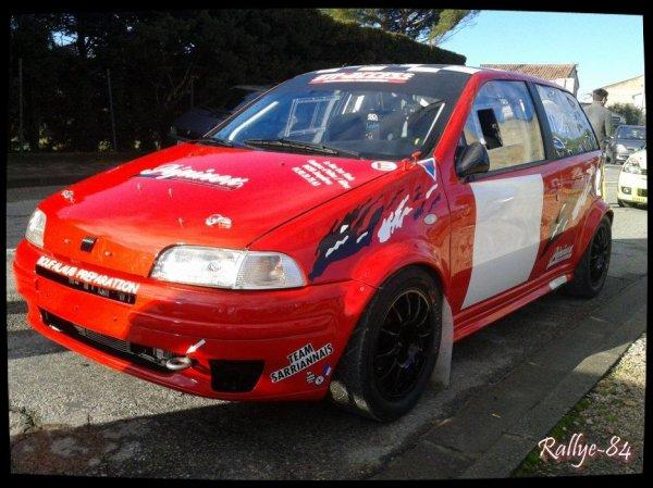 Rallye de Vaison 2014 - Mangematin/Punto Gt